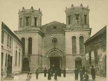 The Mielec Synagogue in 1902